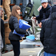 Jessica Biel and Justin Timberlake hand out relief items to Hurricane Sandy victims in New York  131724