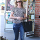 Emily Blunt grocery shopping at Whole Foods  120304