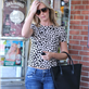 Emily Blunt grocery shopping at Whole Foods  120305