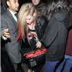 Avril Lavigne in London last night using a blanket to cover her body 128458
