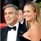 George Clooney and Stacy Keibler at the 70th Annual Golden Globe Awards  136850