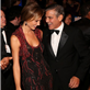 George Clooney and Stacy Keibler at the 26th Anniversary Carousel Of Hope Ball 129806