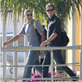 George Clooney and Stacy Keibler arrive in Mexico with Cindy Crawford and Rande Gerber 132822