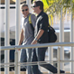 George Clooney and Stacy Keibler arrive in Mexico with Cindy Crawford and Rande Gerber 132823