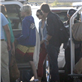 George Clooney and Stacy Keibler arrive in Mexico with Cindy Crawford and Rande Gerber 132826