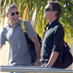 George Clooney and Stacy Keibler arrive in Mexico with Cindy Crawford and Rande Gerber 132832