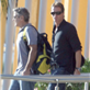George Clooney and Stacy Keibler arrive in Mexico with Cindy Crawford and Rande Gerber 132833
