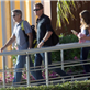 George Clooney and Stacy Keibler arrive in Mexico with Cindy Crawford and Rande Gerber 132834