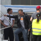 George Clooney, Matt Damon and Grant Heslov departing from Lugano, Switzerland 150587