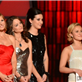 Connie Britton, Hayden Panettiere, and Kimberly Williams-Paisley present to Miranda Lambert at the 46th Annual CMA Awards  130964