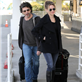 Renee Zellweger and boyfriend Doyle Bramhall together at LAX on their way to Hawaii 140814