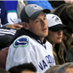 Cory Monteith and Lea Michele at Vancouver Canucks round 1 playoff game 148642