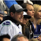 Cory Monteith and Lea Michele at Vancouver Canucks round 1 playoff game 148643