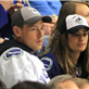Cory Monteith and Lea Michele at Vancouver Canucks round 1 playoff game 148645