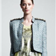 Kelly Wearstler Hydra Cropped Tweed Jacket  120317