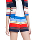 Natalia Striped Cropped Jacket 120319