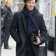 Benedict Cumberbatch and Martin Freeman in London working on Sherlock 146359