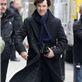 Benedict Cumberbatch and Martin Freeman in London working on Sherlock 146360