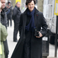 Benedict Cumberbatch and Martin Freeman in London working on Sherlock 146361