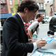 Benedict Cumberbatch signs autographs for fans in NYC 150575