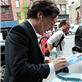 Benedict Cumberbatch signs autographs for fans in NYC 150576
