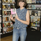 Dawn O'Porter attends a book signing for her novel 'Paper Aeroplanes' 120417