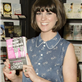 Dawn O'Porter attends a book signing for her novel 'Paper Aeroplanes' 120418