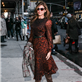 Eva Mendes arrives at The Late Show with David Letterman 119047