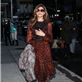 Eva Mendes arrives at The Late Show with David Letterman 119048