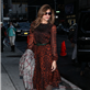 Eva Mendes arrives at The Late Show with David Letterman 119050