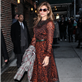 Eva Mendes arrives at The Late Show with David Letterman 119051