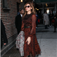 Eva Mendes arrives at The Late Show with David Letterman 119052