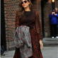 Eva Mendes arrives at The Late Show with David Letterman 119055