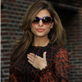 Eva Mendes arrives at The Late Show with David Letterman 119058