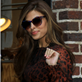 Eva Mendes arrives at The Late Show with David Letterman 119060