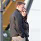 Chris Evans and Scarlett Johansson on the set of Captain America: Winter Soldier  148373