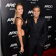 George Clooney and Stacy Kiebler at the Argo premiere 128524