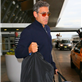 George Clooney and Stacy Keibler arrive in NYC 128723