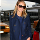 George Clooney and Stacy Keibler arrive in NYC 128725