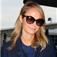 George Clooney and Stacy Keibler arrive in NYC 128726