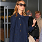 George Clooney and Stacy Keibler arrive in NYC 128727