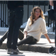 Gisele Bundchen on a H&M Shoot in Chelsea 148625