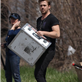 Ryan Gosling helps out on the set of How To Catch A Monster 149040