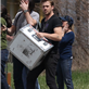 Ryan Gosling helps out on the set of How To Catch A Monster 149041