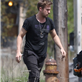 Ryan Gosling helps out on the set of How To Catch A Monster 149044