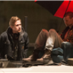 Ryan Gosling and Matt Smith on the set of How To Catch A Monster 150668