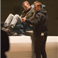 Ryan Gosling and Matt Smith on the set of How To Catch A Monster 150669