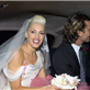 Gwen Stefani and Gavin Rossdale on their wedding day, September 14, 2002 129958