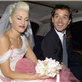 Gwen Stefani and Gavin Rossdale on their wedding day, September 14, 2002 129959