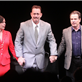 Tom Hanks at curtain call during the opening night of Lucky Guy in NYC 145514